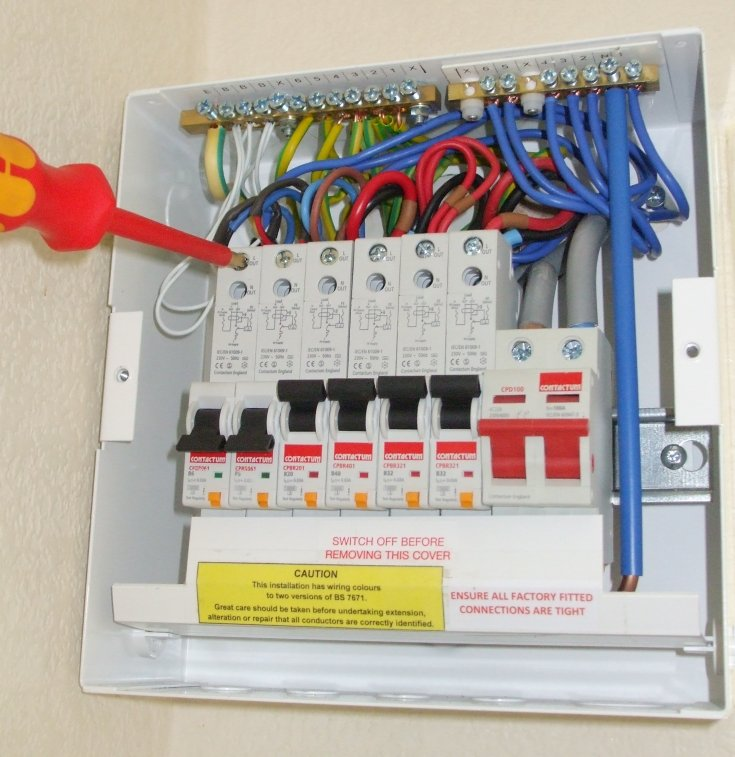 Electrical Fuse Boards Fuse Board Consumer Unit
